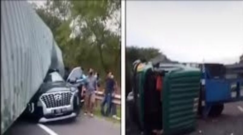 Sopir Kontainer yang Diduga Sebabkan Bos Indomaret Tewas di Tol Cipularang Diburu Polisi